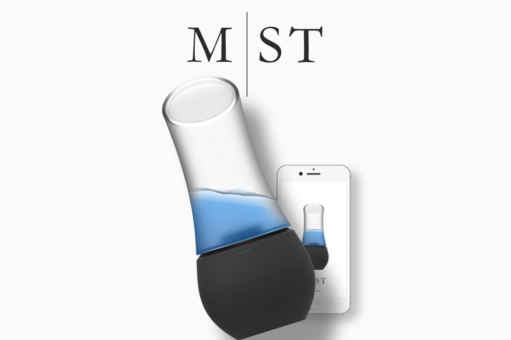 Put a little spritz in your sleep with MST! An alternative to the CPAP machine used to treat sleep apnea, this smart sleep-monitoring device tracks the