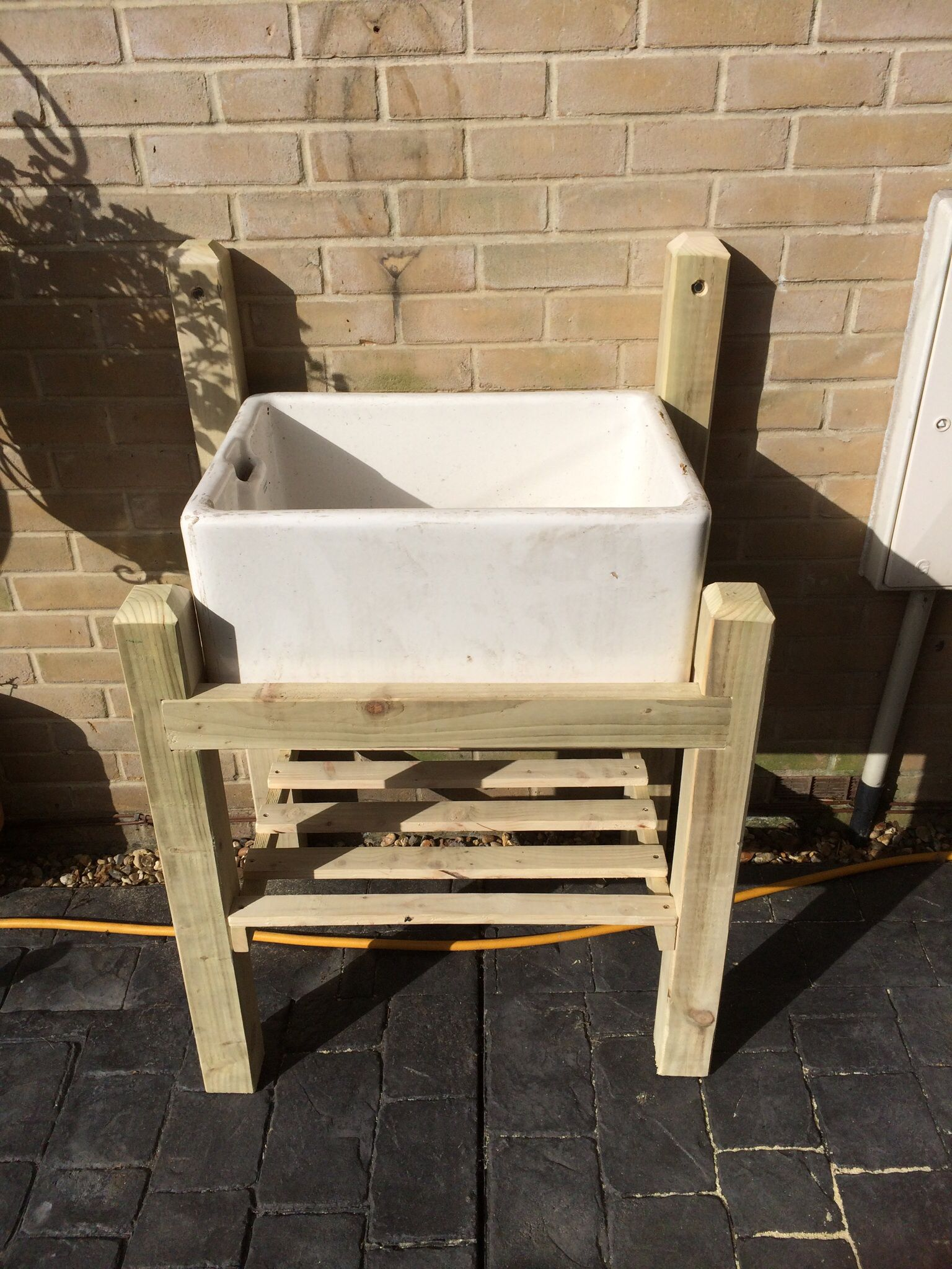 Butlers sink stand (With images) | Garden sink, Butler ... on Outdoor Sink With Stand id=70742