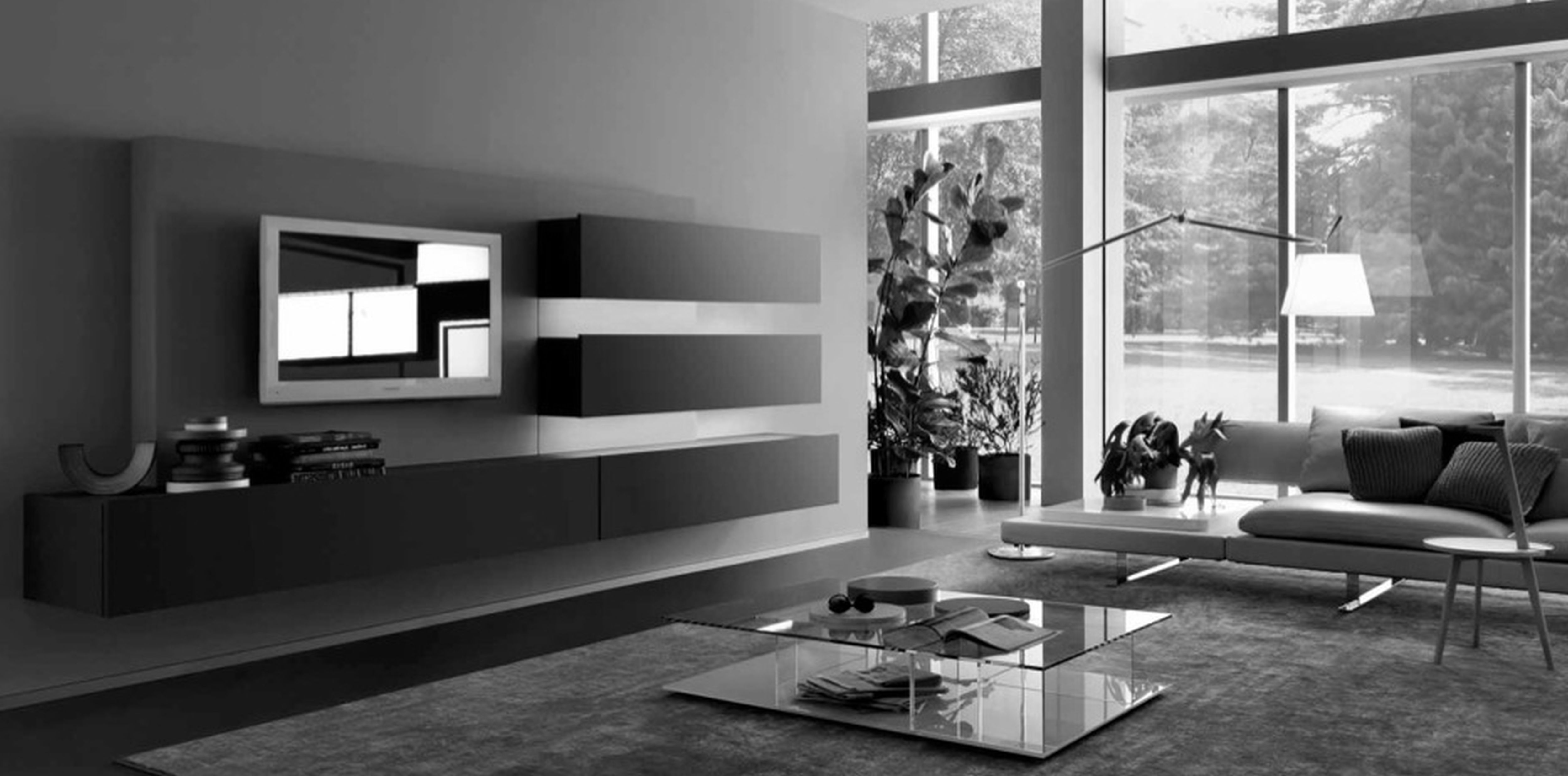 beautiful living rooms category for black and white on beautiful modern black white living room inspired id=83570