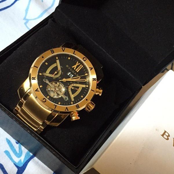 8d935d0f983 Bvlgari Iron Man automático Relógios De Luxo