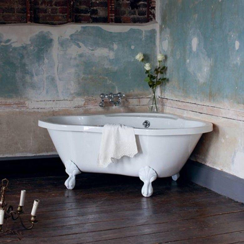 Heart shaped corner bath   bathroom   Pinterest   Corner bath ...