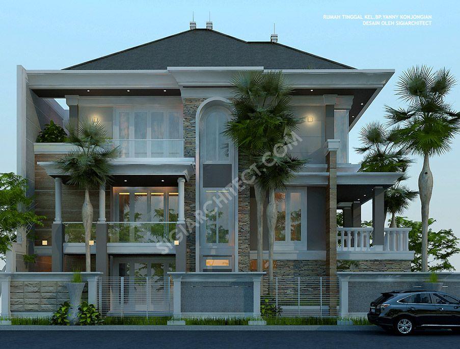 103 Gambar Rumah Modern Klasik 3 Lantai HD Terbaik