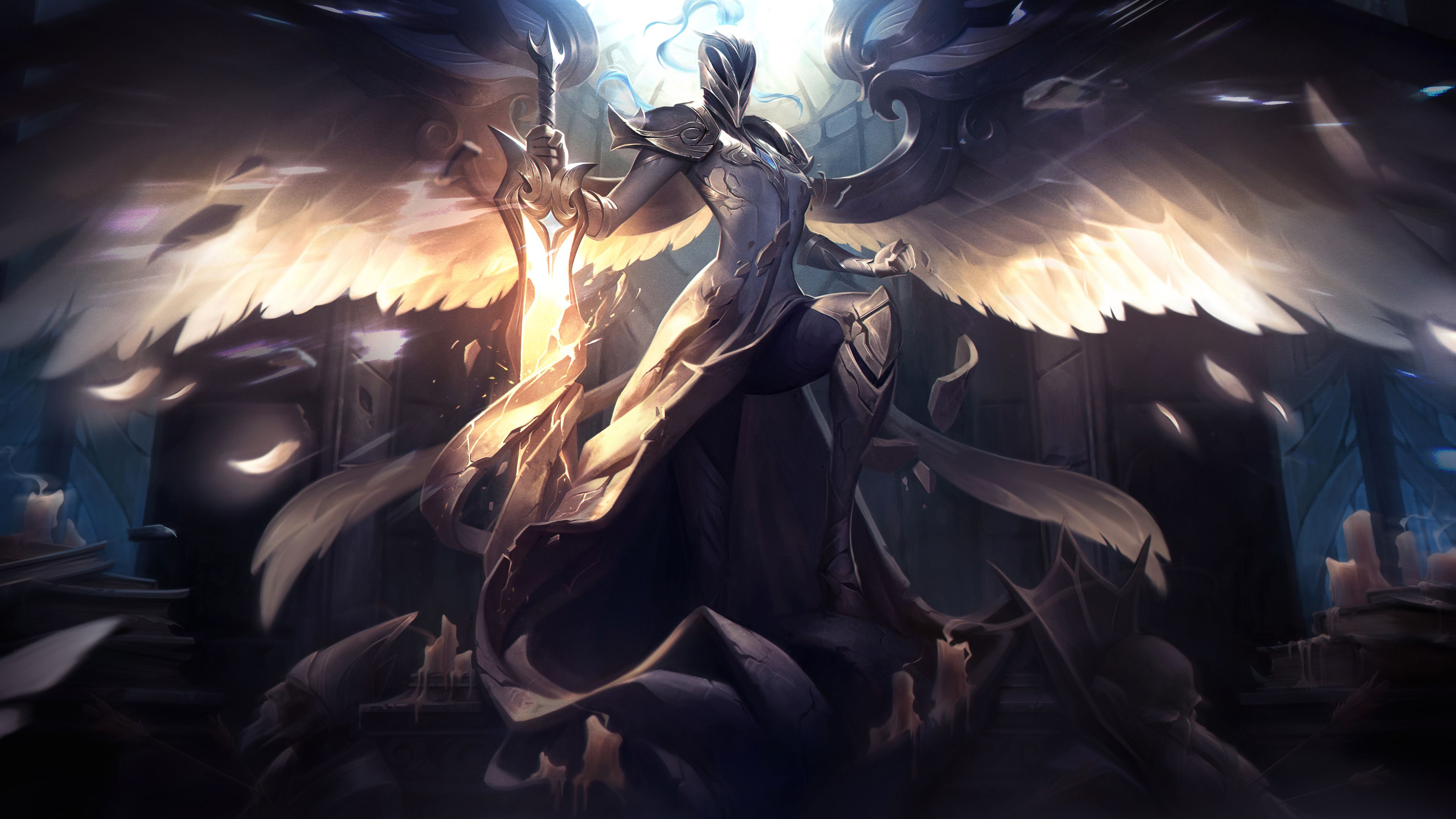 Aether Wing Kayle League Of Legends 4k League Of Legends Wallpapers Hd Wallpapers Games Wallpapers 5k Wallpapers 4k Wallpapers League Of Legends League Art Aether wing kayle league of legends
