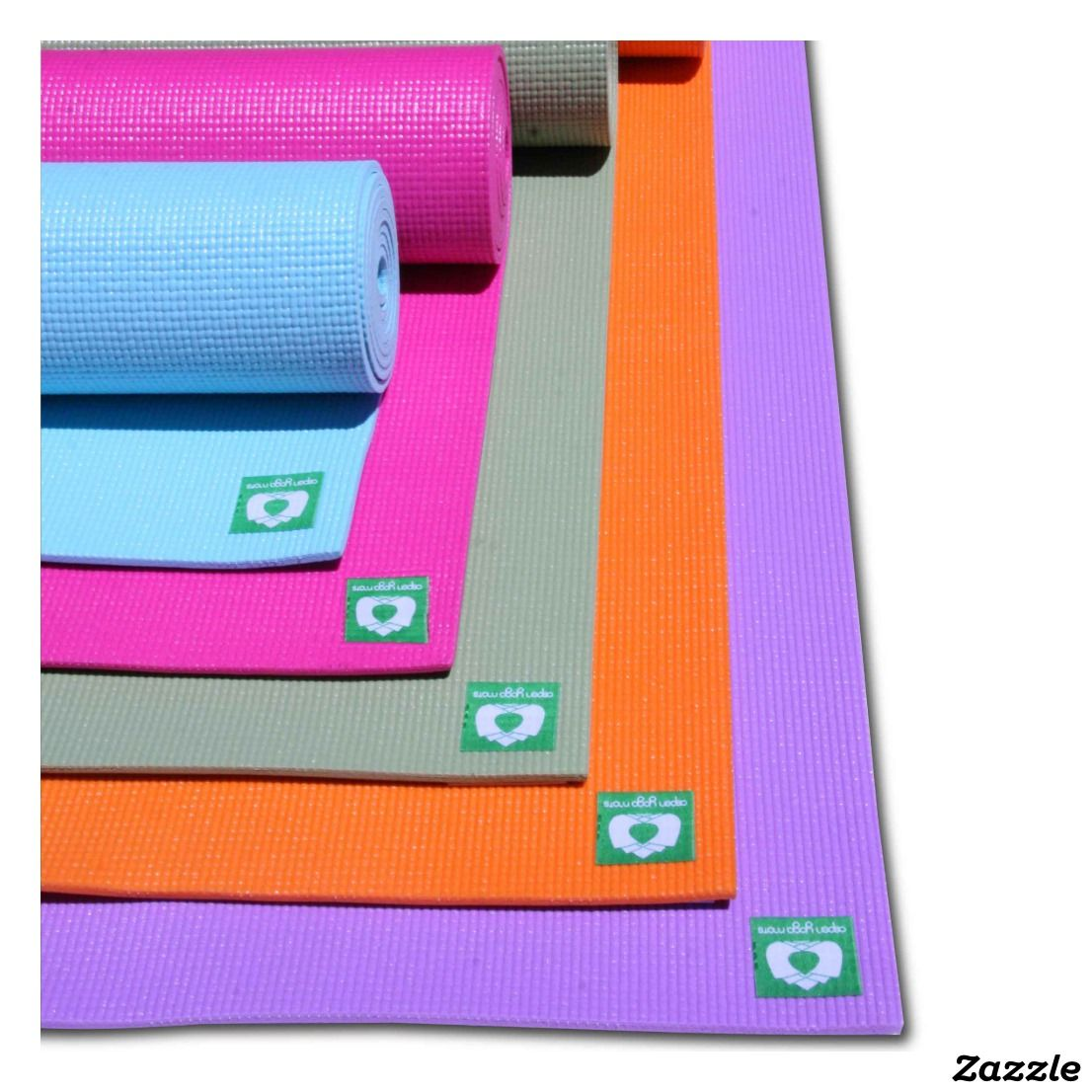 Yin Yang Yoga Mat Pink Purple Zazzle Com With Images Yoga Mat Yoga Mats Design Custom Yoga Mat