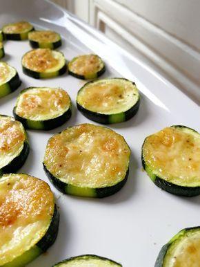 Courgettes au parmesan - pour l'apéro - C secrets gourmands #aperodinatoirefacile