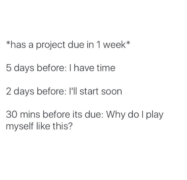 17 Hilarious Photos That Ll Make You Say I Thought I Was The Only One Procrastination Humor Procrastination Quotes Laughing Quotes