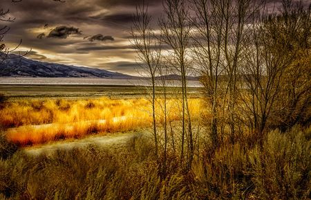Washoe Lake with Approaching Storm Photo by Janis Knight -- National Geographic Your Shot