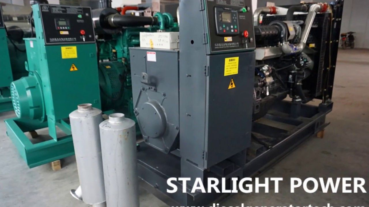 Starlight Power Provides 50kw To 800kw Diesel Generator Set With Shangchai Engine Alternators Can Select Uk St Diesel Generators Standby Generators Generation