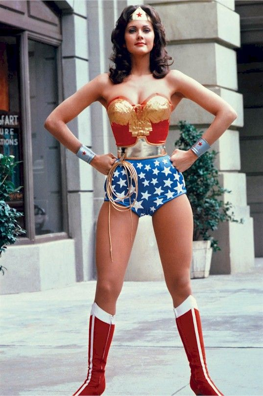 Wonder woman lynda carter fakes delightful