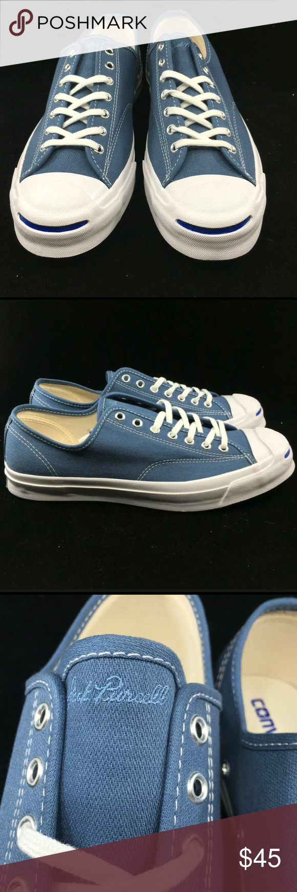 CONVERSE JACK PURCELL SIGNATURE OX BLUE