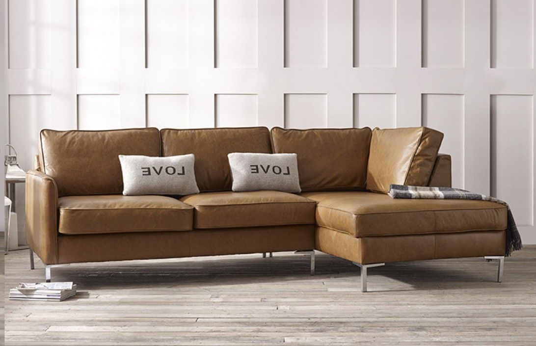 Columbus Modern Right Hand Facing Sofa Handmade In Our Manchester Factory Contemporary Leather Sofa Leather Corner Sofa Corner Sofa