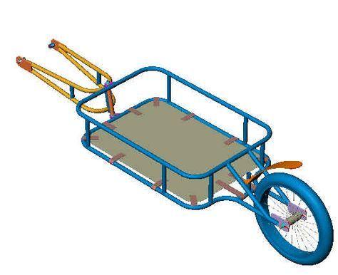 trailer plans | fixie | Remorque moto, Remorque velo et Velo cyclotourisme