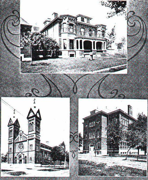 St. Anthony's Church, Rectory And School