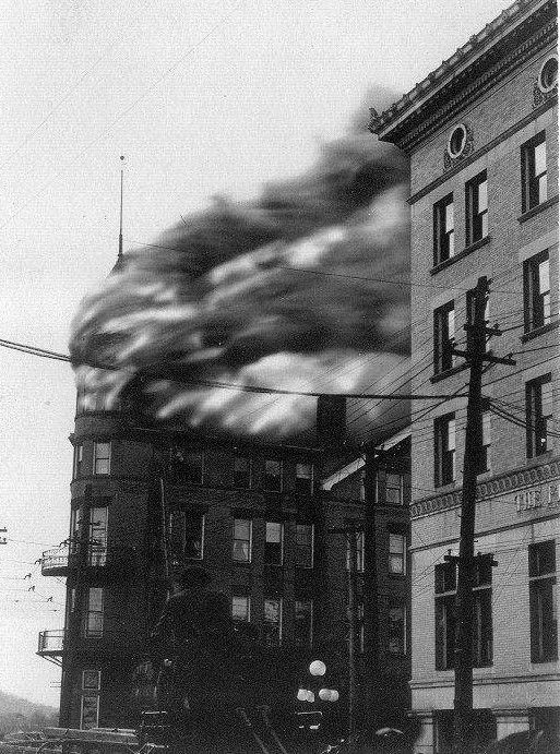 The Bellevue Hotel Fire In April 1916