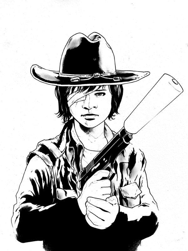 Carl Grimes Walking Dead Walking Dead Fan Art Walking Dead Art The Walking Dead Instagram