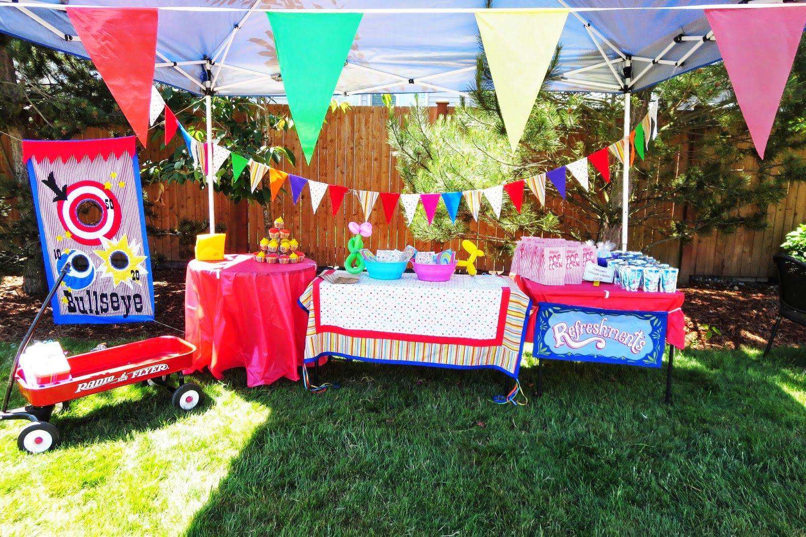 Backyard Carnival floor plan of a backyard carnival party - google search   kids