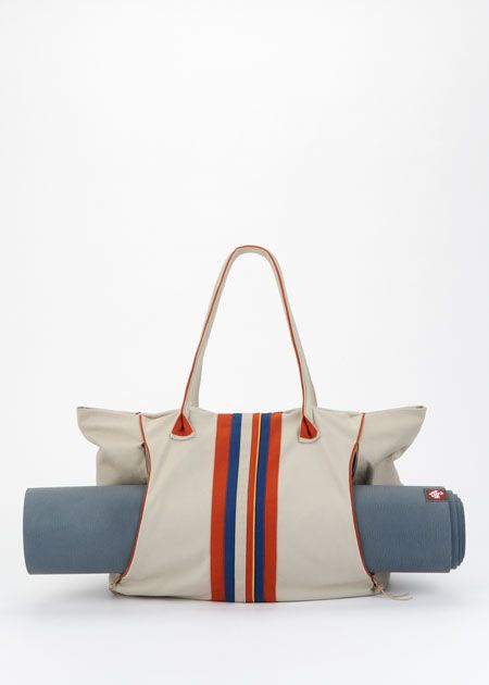 The Best Yoga Tote Ever That Is Fun And Functional Made With Organic Cotton By Rodales Sambazon