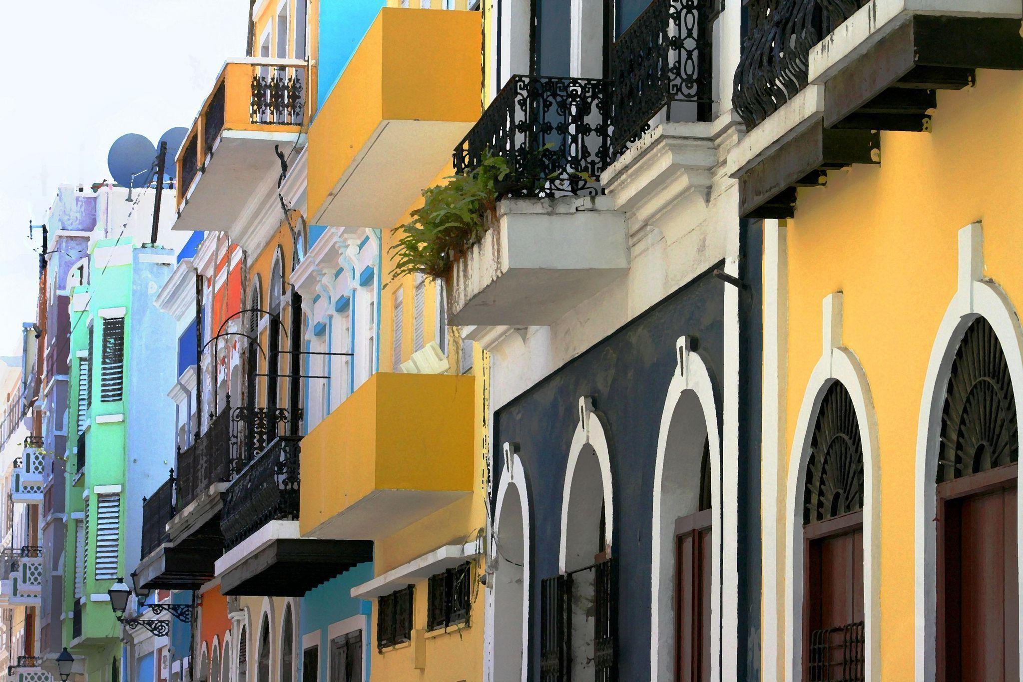 This is soooo captivating. Old San Juan Puerto Rico Photo