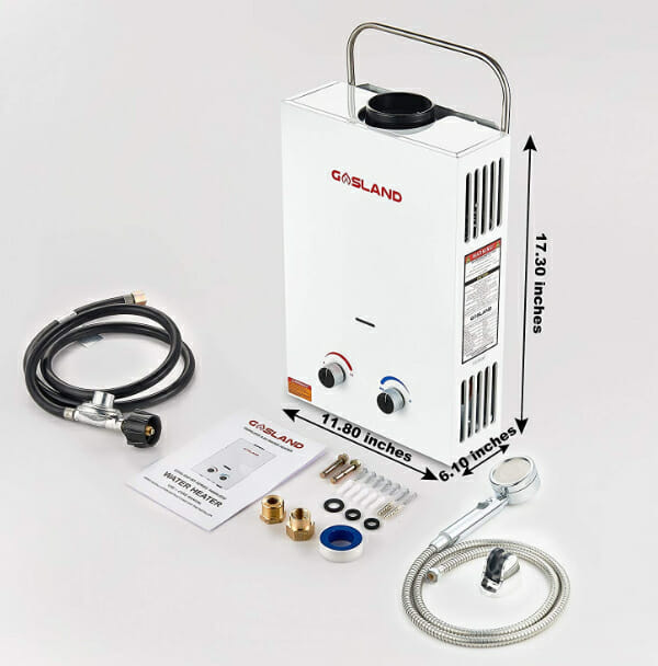 Installing A Diy Hot Water Heater In A Campervan Hot Water Heater Water Heater Tankless Hot Water Heater