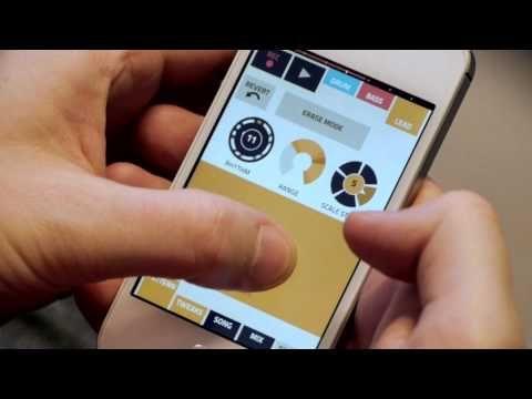 Figure music app for iPhone - demo video | Designer: Propeller Head - http://www.propellerheads.se