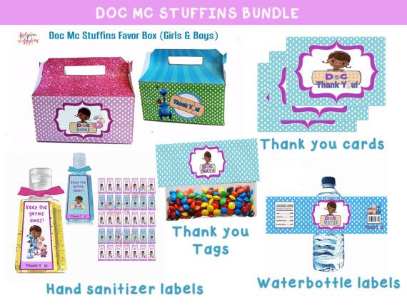 Doc Mc Stuffins Birthday Bundle Doc Mc By Preciouscelebration
