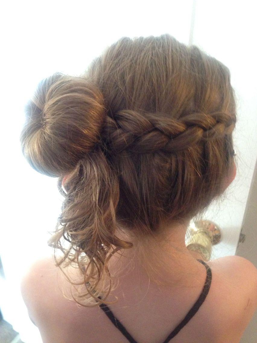 junior bridesmaid hairstyle | hair | bridesmaid hair