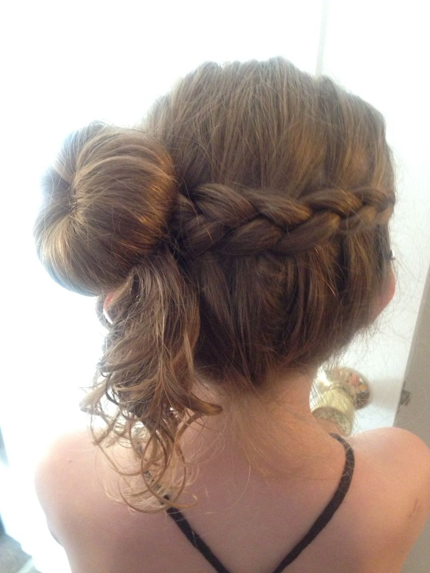 Miraculous Junior Bridesmaid Hairstyle Hair Pinterest Junior Hairstyle Inspiration Daily Dogsangcom