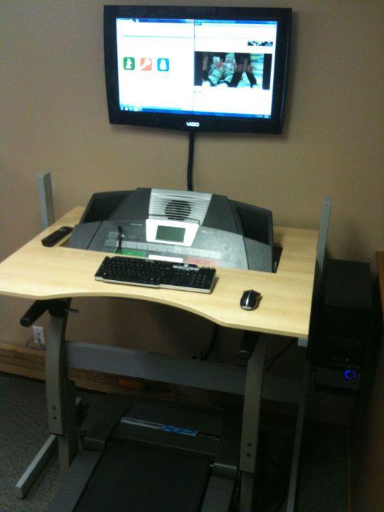 The better looking ikea jerker treadmill desk do it for Mobile computer ikea