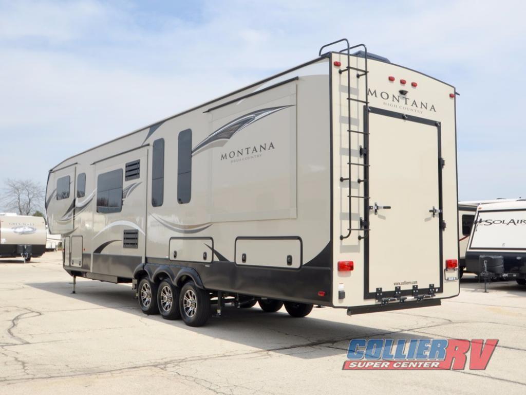 New 2018 Keystone Rv Montana High Country 380th Toy Hauler Fifth Wheel At Collier Rv Rockford Il 740051 Keystone Rv Rv Keystone