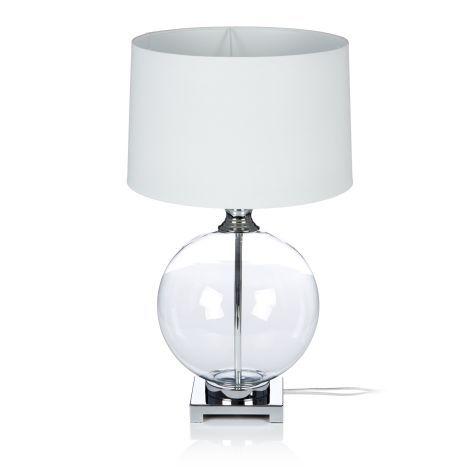 Tischleuchte Bauchiger Glasfuss Edel Tischleuchten Beleuchtung Living Lamp Decor Lighting