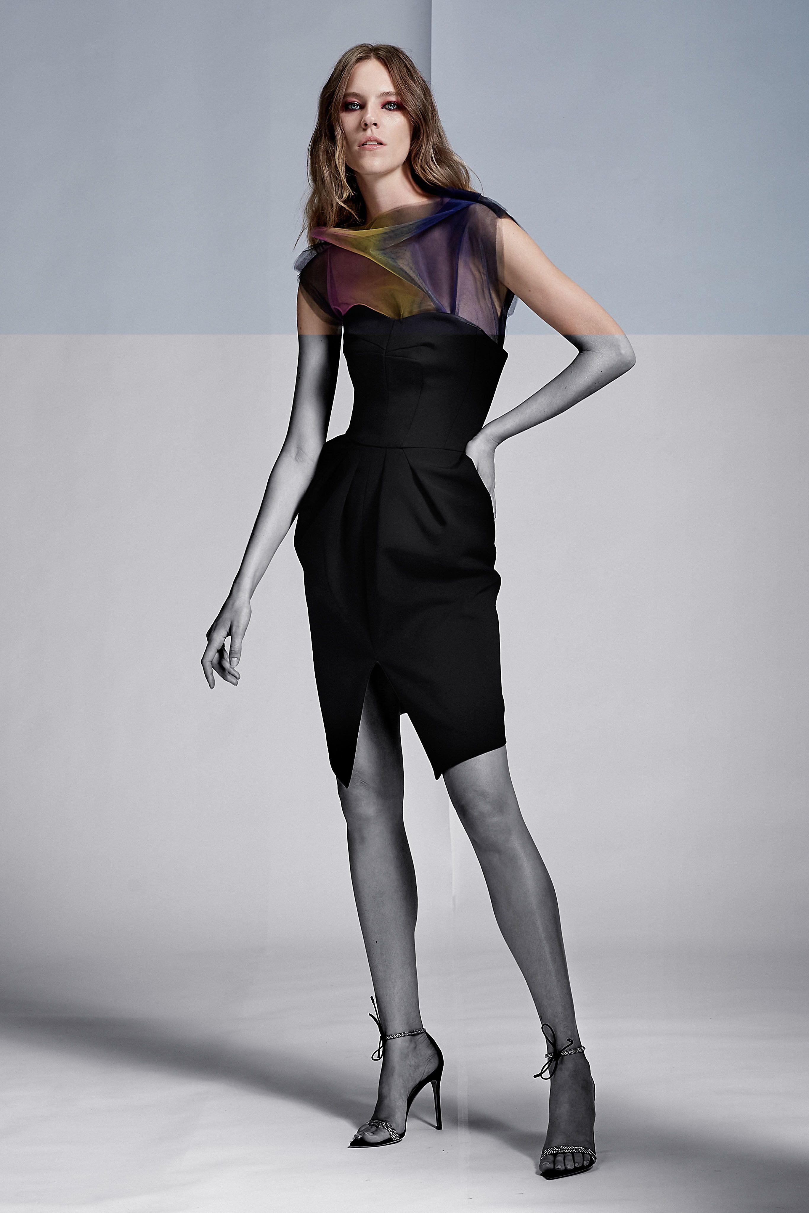 Oscar de la Renta   Black coctail dress, Fashion, Coctail