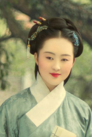3178af18d Ming Dynasty Hair and Makeup | Traditional Clothing of China in 2019 ...