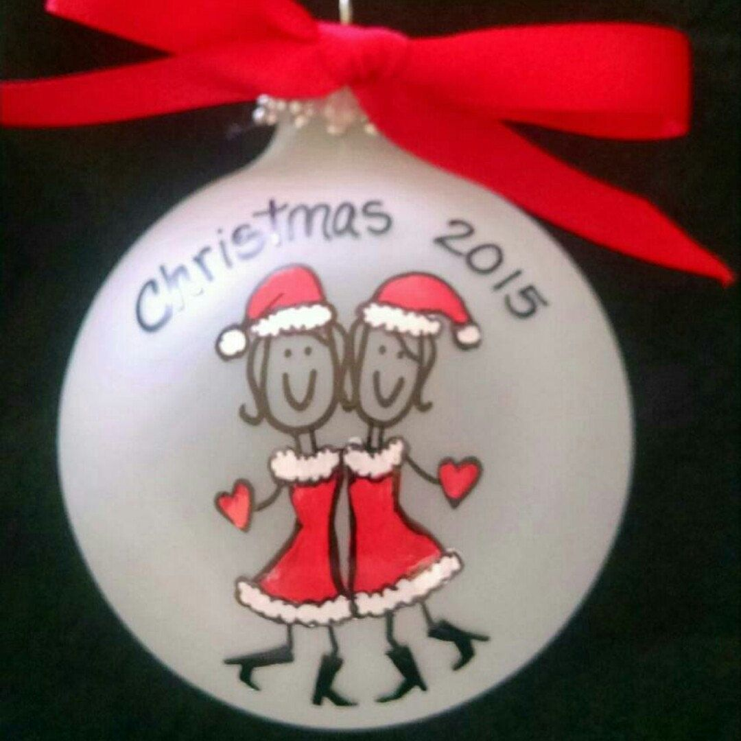 best friend christmas ornaments personalized friends christmas