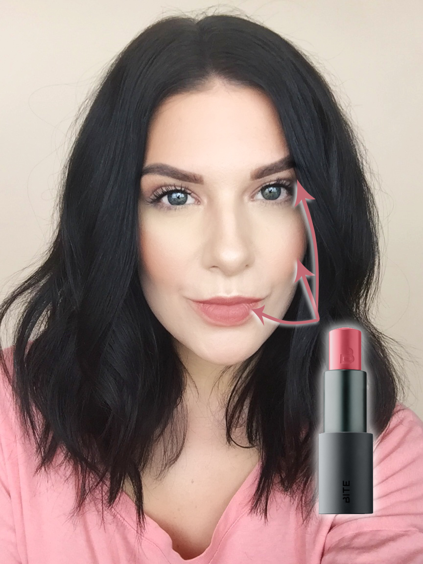 Get the look monochromatic makeup where to apply bite beauty step by step full face and makeup tutorial on how to achieve the spring 2017 makeup trend of monochromatic makeup with bite beauty multistick baditri Choice Image