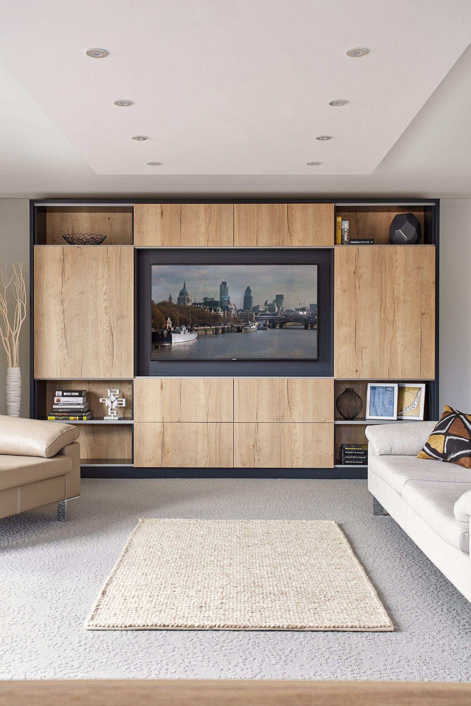 Contemporary Levigo lounge with sliding doors | Contemporary Living ...