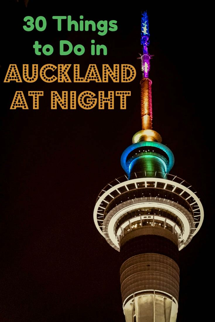 Pick your favourite nighttime activity from this list of 30 things to do in Auckland New Zealand at night. You can dine the hours away, listen to comedy, go to an escape room, peer at the heavens through a planetarium telescope or pick from this extensive list of evening venues. #Travel #Auckland #aucklandcity #NewZealand #nightlife #afterhours