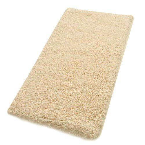 kaimao nonslip absorbent bath mat shower rug for living