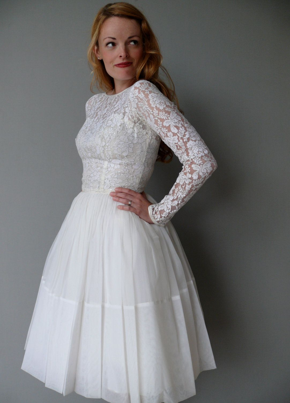S wedding dress s cupcake length lace illusion wedding dress