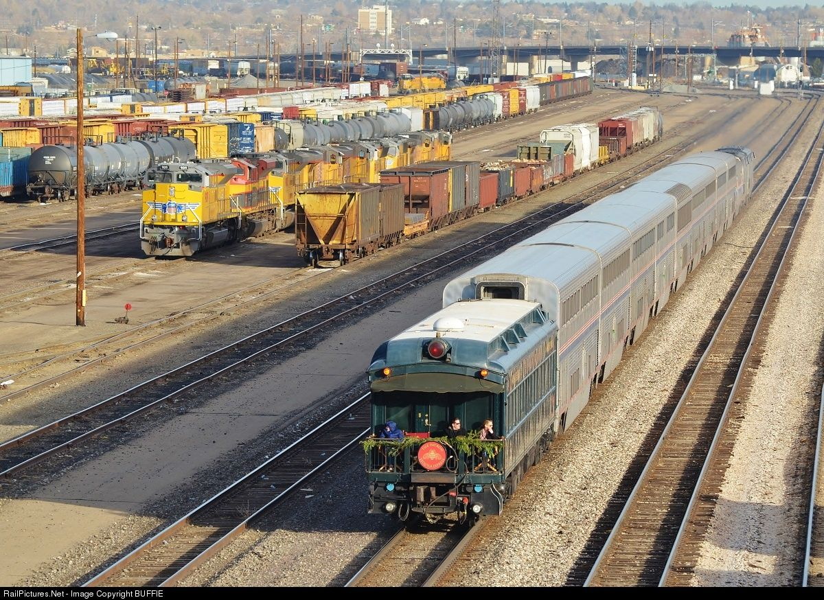 RailPictures.Net Photo: GMO 50 Amtrak Private Coach at Denver, Colorado by BUFFIE