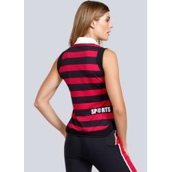 Photo of Sportalm, polo shirt in a maritime design, black Sportalm Kitzbühel