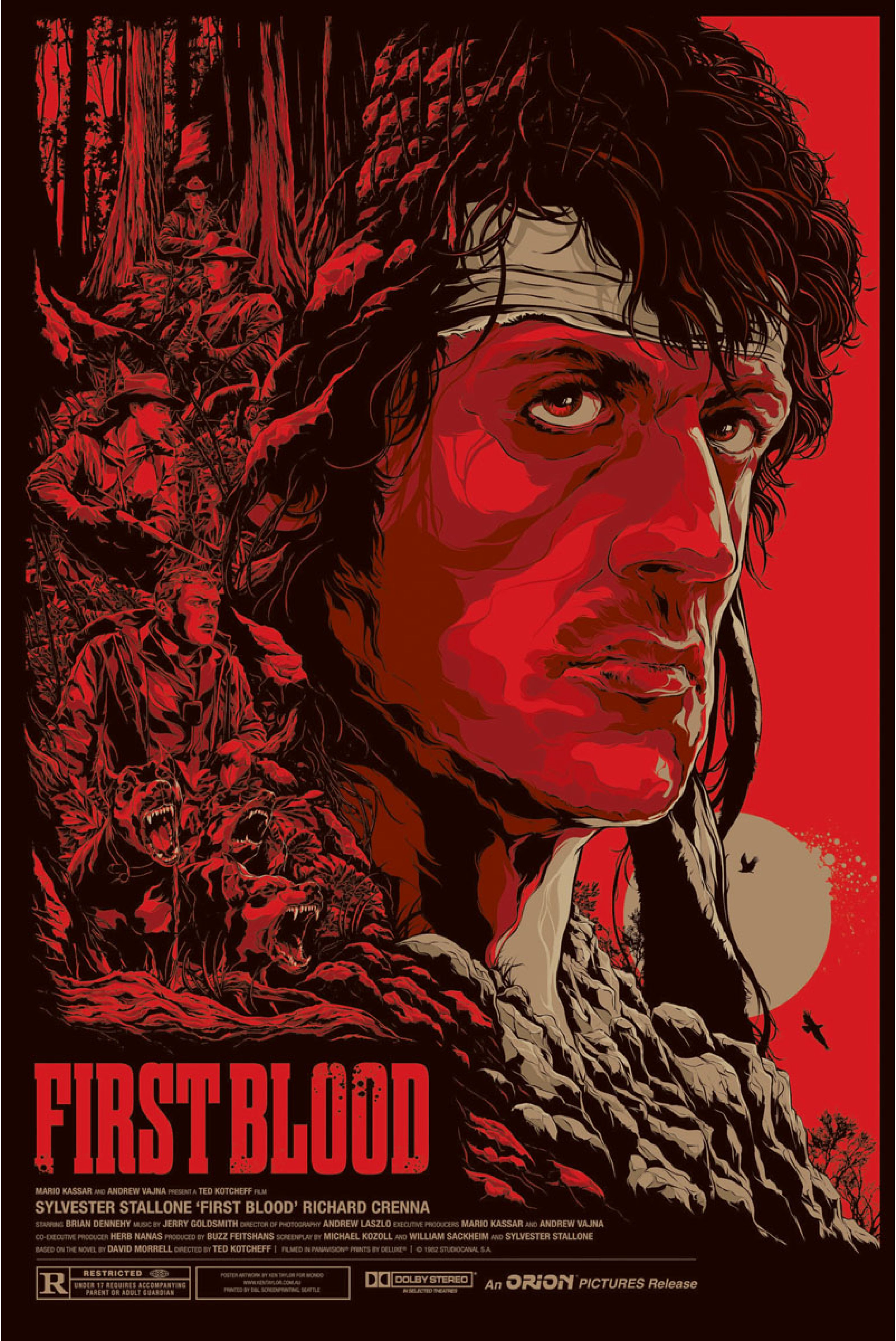 rambo first blood official mondo release by melbourne