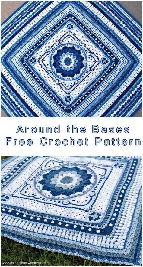 Free Crochet Pattern Hello! Around the Bases is a crochet project ...