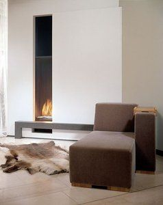 Vertical Gas Fireplace Fireplaces Pinterest Hearth Gas