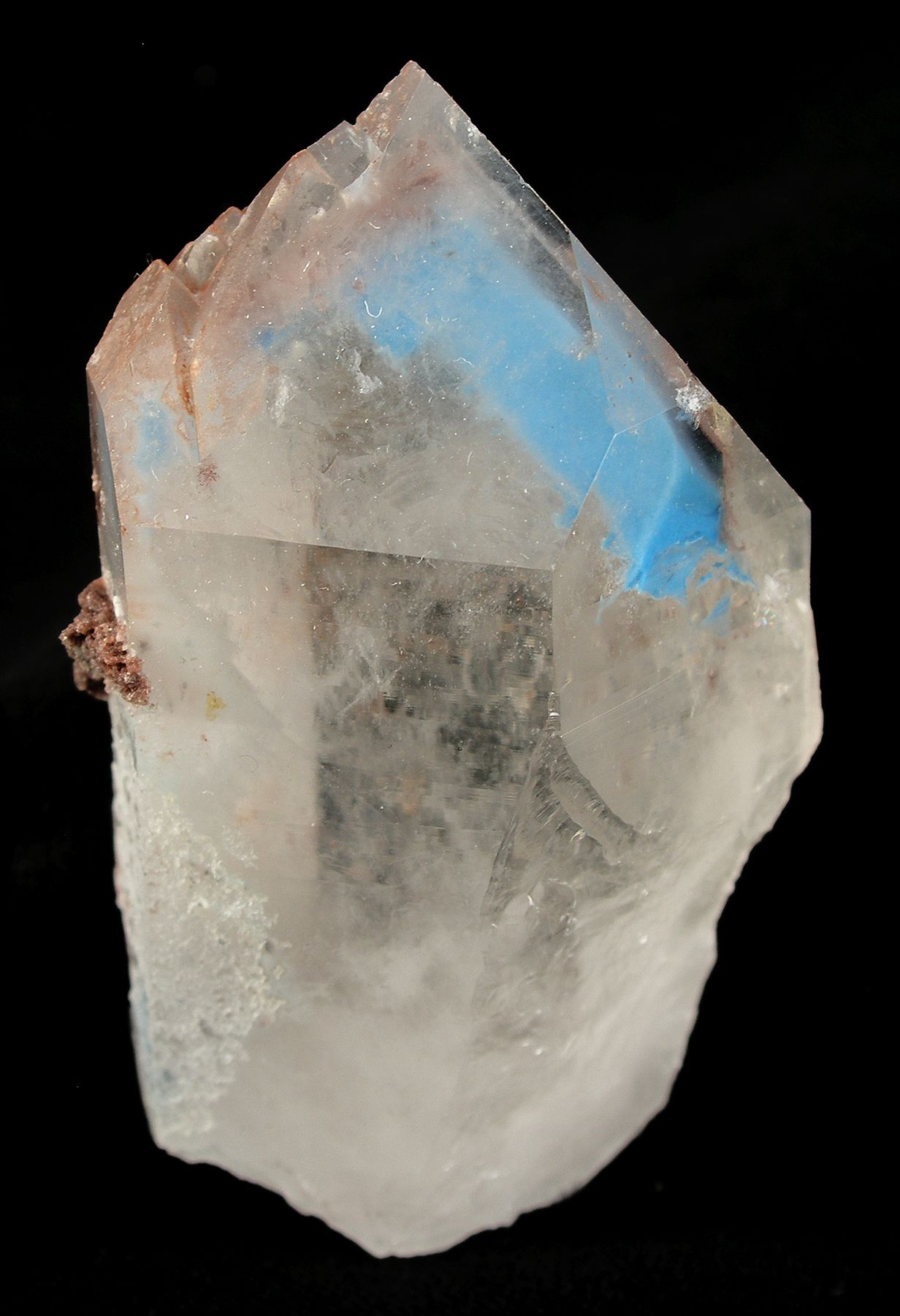Is quartz considered a natural stone - Papagoite Included In Quartz Phantom From Messina Mine Limpopo Transvaal South