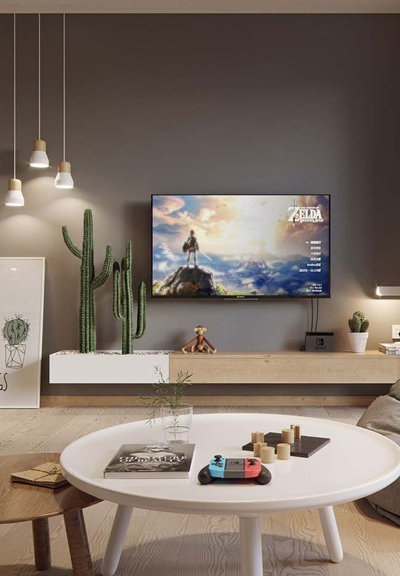 Photo of 10 Ideas on How To Decorate a TV Wall