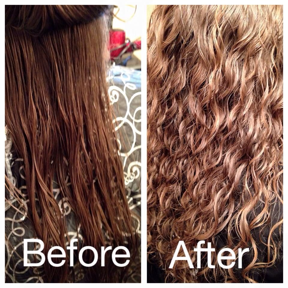 Beautytalkssalon Before And After Spiral Perm Permed Hairstyles Loose Spiral Perm Long Hair Perm