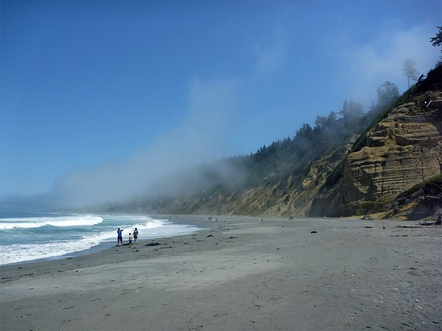 Fog Above Agate Beach Patricks Point State Park California State Parks Beach Happy Places