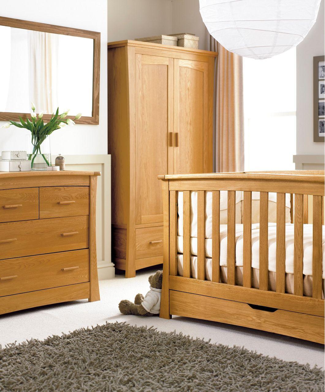 Ocean 3 Piece Set Spring Oak Ocean Oak Mamas Papas Nursery