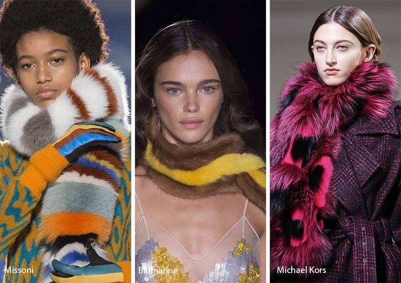 Fall Winter 2017 2018 Accessory Trends Dodatki Mode Femme Mode