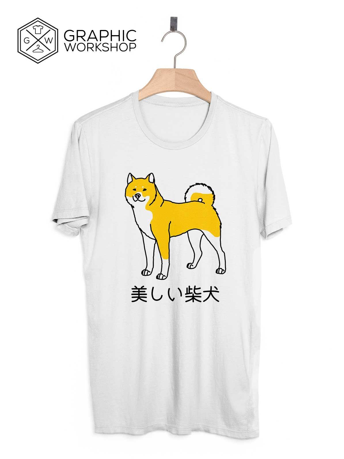 a1a4bef40 Shibe Doge T-Shirt // Japanese Clothing Shiba Inu Tumblr Vaporwave  Aesthetics…